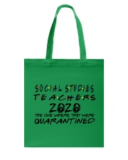 SOCIAL STUDIES 2020 Tote Bag thumbnail