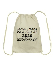 SOCIAL STUDIES 2020 Drawstring Bag thumbnail