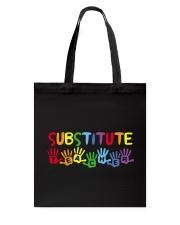 SUBSTITUTE TEACHER DESIGN Tote Bag thumbnail