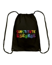 SUBSTITUTE TEACHER DESIGN Drawstring Bag thumbnail