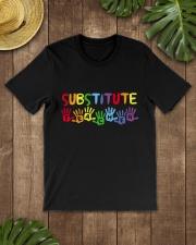SUBSTITUTE TEACHER DESIGN Classic T-Shirt lifestyle-mens-crewneck-front-18