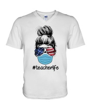 TEACHER 2020 LIFE V-Neck T-Shirt thumbnail