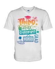3RD GRADE GRAD 2020 V-Neck T-Shirt thumbnail