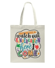 KINDERGARTEN Tote Bag thumbnail