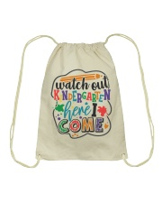 KINDERGARTEN Drawstring Bag thumbnail
