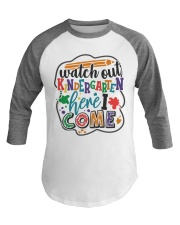 KINDERGARTEN Baseball Tee tile
