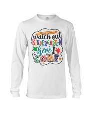 KINDERGARTEN Long Sleeve Tee thumbnail