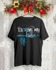 MY TRIBE Classic T-Shirt lifestyle-holiday-crewneck-front-2