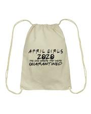 APRIL GIRLS Drawstring Bag thumbnail