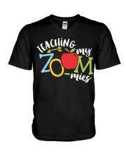 ONLINE TEACHER V-Neck T-Shirt thumbnail