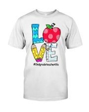 2ND GRADE TEACHER Classic T-Shirt front
