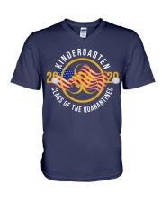 KINDERGARTEN CLASS OF 2020 V-Neck T-Shirt thumbnail