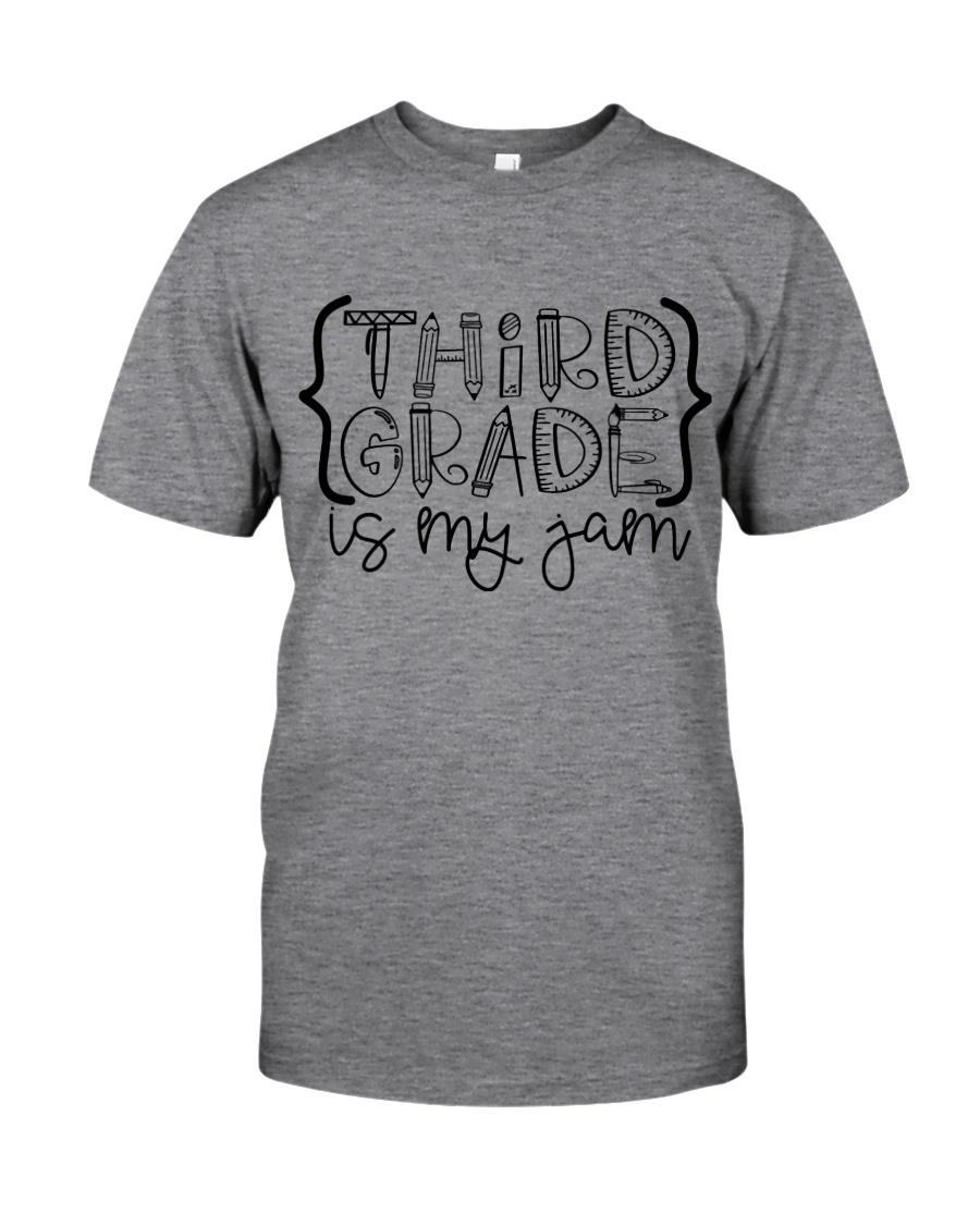 THIRD GRADE IS MY JAM Classic T-Shirt