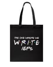 WHERE WE WRITE IEPS Tote Bag thumbnail