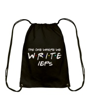 WHERE WE WRITE IEPS Drawstring Bag thumbnail