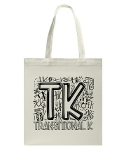 TRANSITIONAL-K TYPO Tote Bag thumbnail
