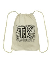 TRANSITIONAL-K TYPO Drawstring Bag thumbnail
