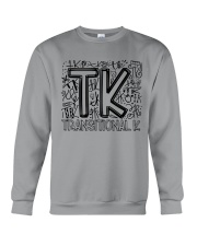 TRANSITIONAL-K TYPO Crewneck Sweatshirt thumbnail