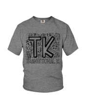 TRANSITIONAL-K TYPO Youth T-Shirt thumbnail