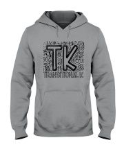 TRANSITIONAL-K TYPO Hooded Sweatshirt thumbnail