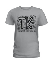 TRANSITIONAL-K TYPO Ladies T-Shirt thumbnail