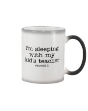 I'M SLEEPING WITH MY KID'S TEACHER Color Changing Mug thumbnail