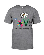 SCHOOL COUNSELOR LIFE Classic T-Shirt front