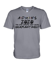 ADMINS  V-Neck T-Shirt tile