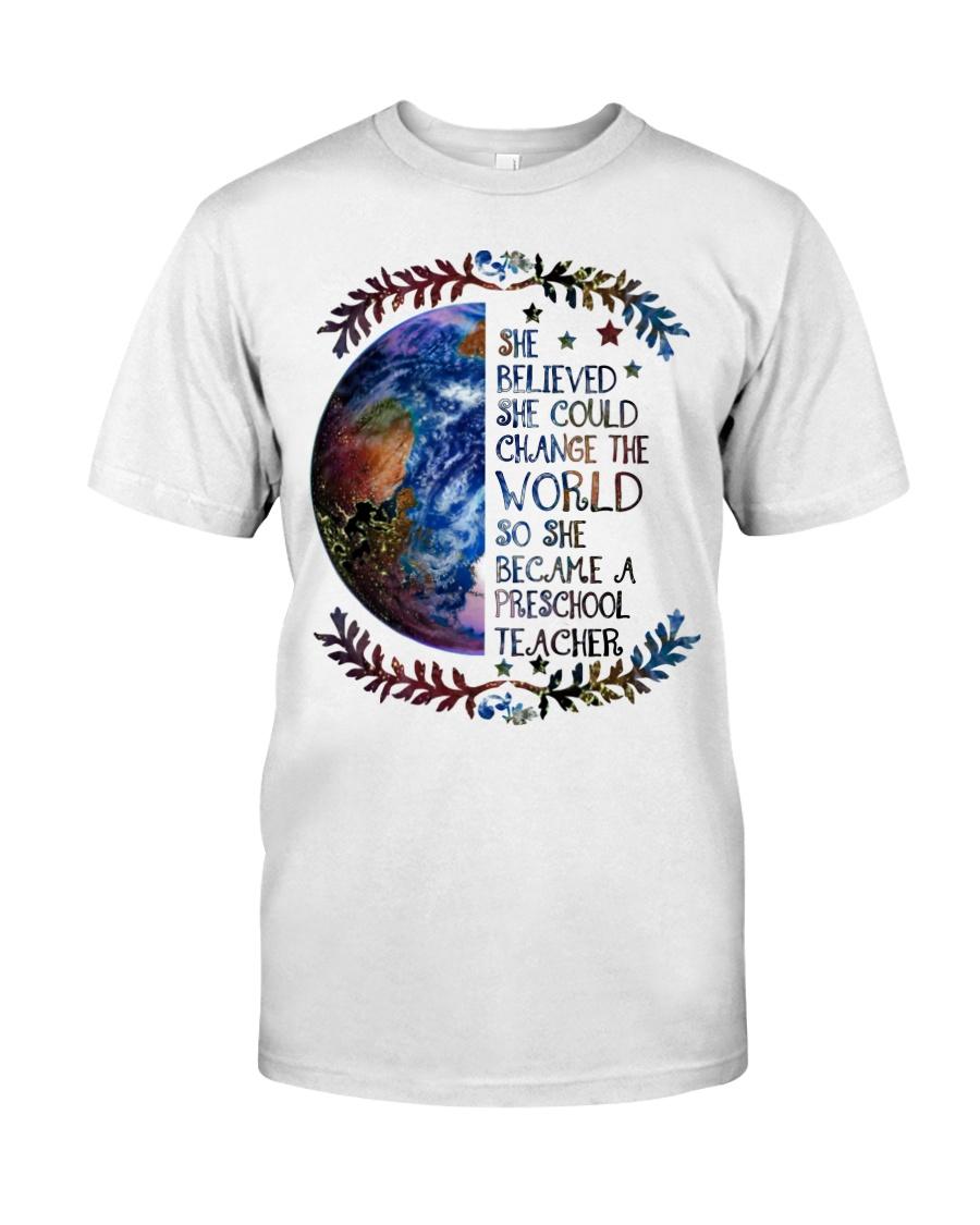 PRESCHOOL CHANGE W Classic T-Shirt