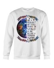 PRESCHOOL CHANGE W Crewneck Sweatshirt thumbnail