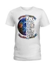 PRESCHOOL CHANGE W Ladies T-Shirt thumbnail