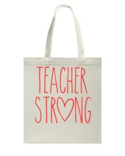 TEACHER STRONG Tote Bag thumbnail