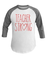 TEACHER STRONG Baseball Tee thumbnail