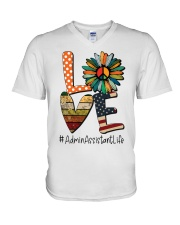 ADMIN ASSISTANT V-Neck T-Shirt thumbnail