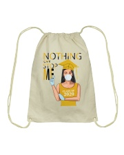 YELLOW - NOTHING CAN STOP ME Drawstring Bag thumbnail