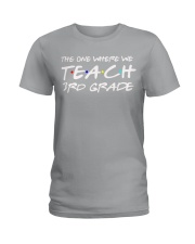 THIRD GRADE Ladies T-Shirt thumbnail