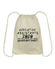 EDUCATION ASSISTANTS Drawstring Bag thumbnail