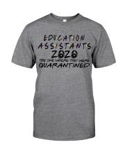 EDUCATION ASSISTANTS Classic T-Shirt front