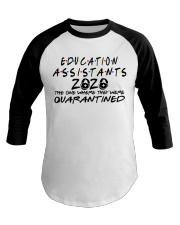 EDUCATION ASSISTANTS Baseball Tee thumbnail