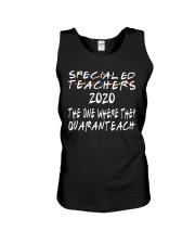 SPED TEACHERS Unisex Tank thumbnail