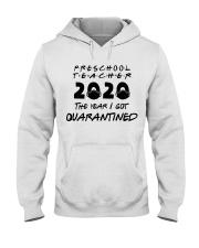 PRESCHOOL TEACHER Hooded Sweatshirt thumbnail