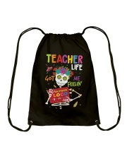 TEACHER LOCO Drawstring Bag thumbnail