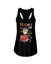 TEACHER LOCO Ladies Flowy Tank thumbnail