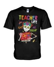 TEACHER LOCO V-Neck T-Shirt thumbnail