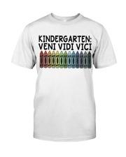KINDERGARTEN Classic T-Shirt front