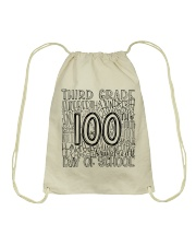 THIRD GRADE TYPO Drawstring Bag thumbnail