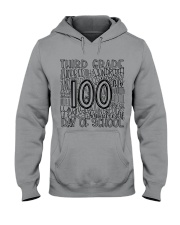 THIRD GRADE TYPO Hooded Sweatshirt thumbnail