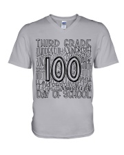 THIRD GRADE TYPO V-Neck T-Shirt thumbnail