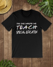 WHERE WE TEACH SPECIAL EDUCATION Classic T-Shirt lifestyle-mens-crewneck-front-18