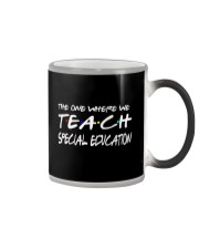 WHERE WE TEACH SPECIAL EDUCATION Color Changing Mug thumbnail